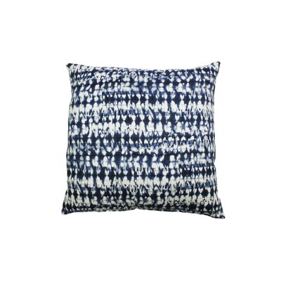 Pembroy 100% Cotton Throw Pillow Color: Ink