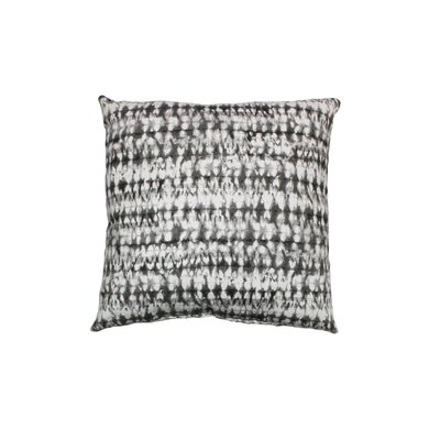 Pembroy 100% Cotton Throw Pillow Color: Pewter