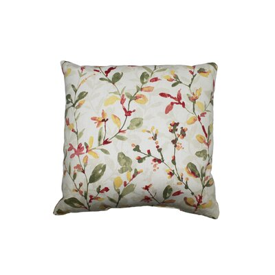 Sweetie Pie 100% Cotton Throw Pillow Color: Nectar