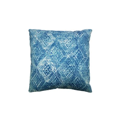 Darrow Outdoor Throw Pillow Color: Rapids