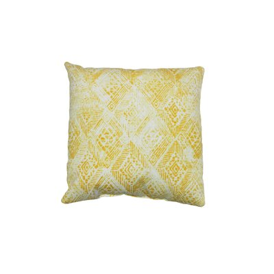 Darrow Outdoor Throw Pillow Color: Sunburst