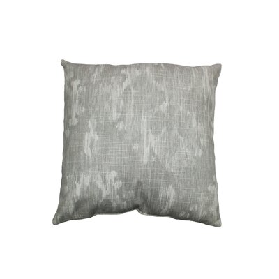 Bandula Cotton Throw Pillow Color: Greystone