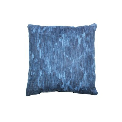 Bandula Cotton Throw Pillow Color: Indigio