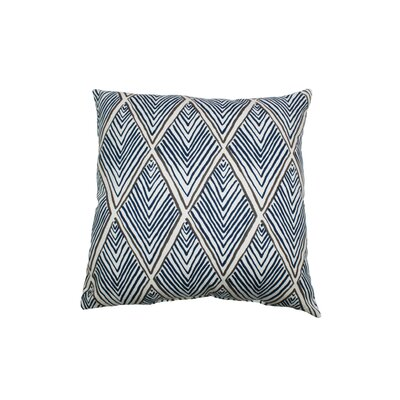 Rhombi Forms 100% Cotton Throw Pillow