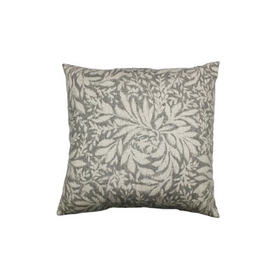 Indiki Blooms 100% Cotton Throw Pillow Color: Greystone