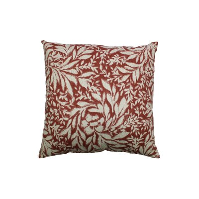 Indiki Blooms 100% Cotton Throw Pillow Color: Henna