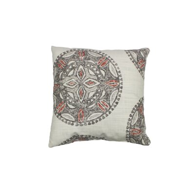 Amapondo Cotton Throw Pillow Color: Bark