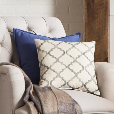 Mullinax Linen Throw Pillow Color: Gemstone