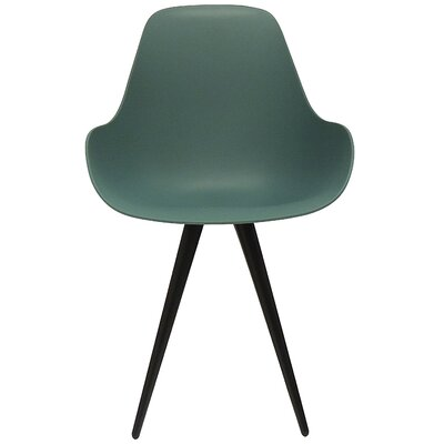 Angel Contract Dimple Side Chair Color: Ocean Blue
