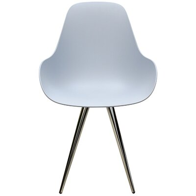 Angel Contract Dimple Arm Chair Color: Light Grey