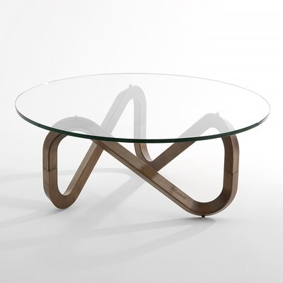 Libra Coffee Table Base Finish: Walnut