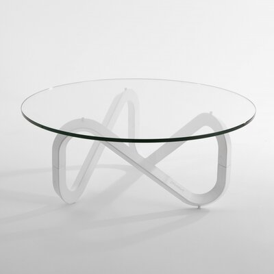 Libra Coffee Table Base Color: White