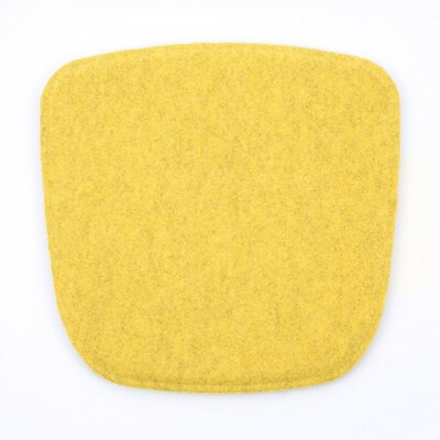 Dining Chair Cushion Color: Yellow