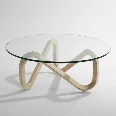 Libra Coffee Table Base Color: Natural