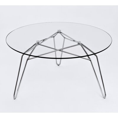 Diamond Coffee Table Base Color: Chrome