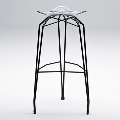 Diamond 32 Bar Stool Base Finish: Black