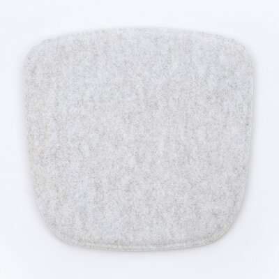 Dining Chair Cushion Color: Silver