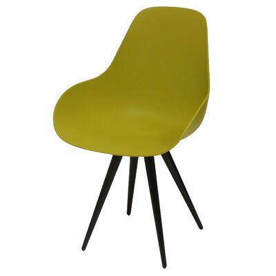 Angel Contract Dimple Side Chair Color: Mustard