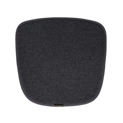 Dining Chair Cushion Color: Dark Gray
