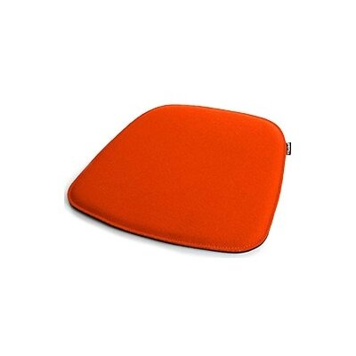 Dining Chair Cushion Color: Orange