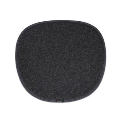 Dining Chair Cushion Color: Dark Grey
