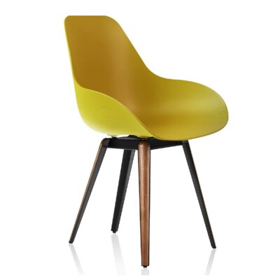 Slice Arm Chair Finish: Mustard