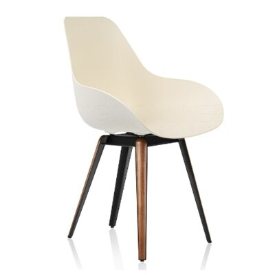 Slice Arm Chair Finish: Cream