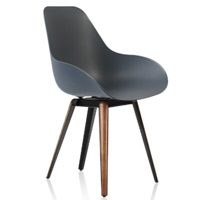 Slice Arm Chair Finish: Dark Gray