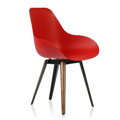 Slice Arm Chair Finish: Red
