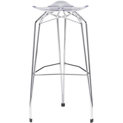 Diamond 32 Bar Stool Base Finish: Chrome