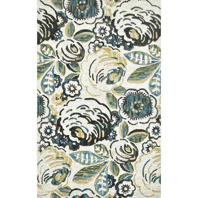Marrakesh Cool Ivory Area Rug Rug Size: 8 x 11
