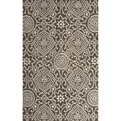 Sereno Charcoal/Cream Indoor/Outdoor Area Rug Rug Size: 8 x 10