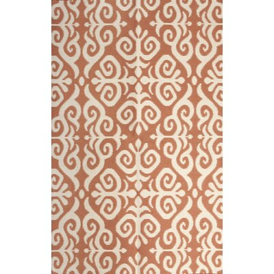 Earth Marigold/Cream Indoor/Outdoor Area Rug Rug Size: Rectangle 5 x 76