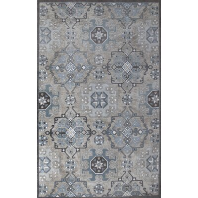 Como Hand-Woven Blue/Gray Indoor Area Rug Rug Size: 8 x 10