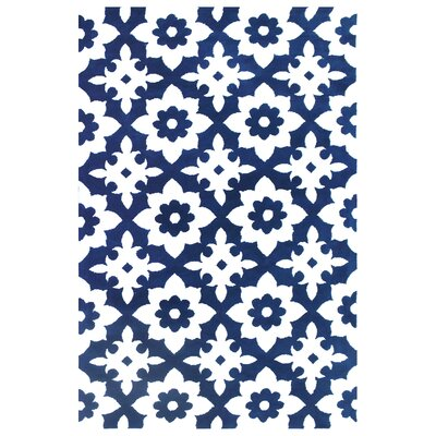 Microplush Blue Area Rug Rug Size: 8 x 10