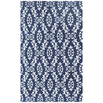 Microplush Blue Area Rug Rug Size: 8' x 10'