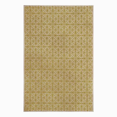 SeanPaul Hand Woven Gold Area Rug Rug Size: 9 x 12