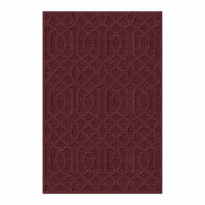 Evon Hand Tufted Red Area Rug