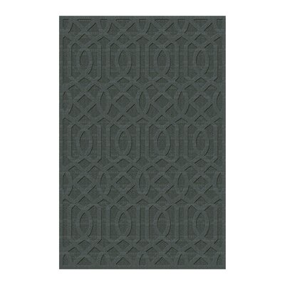 Evonna Hand Tufted Blue Area Rug