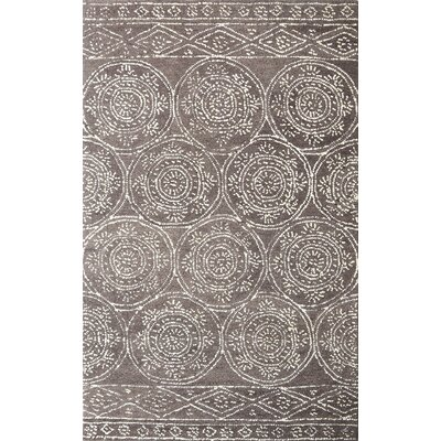 Villarreal Hand Tufted Wool Taupe/Ivory Area Rug