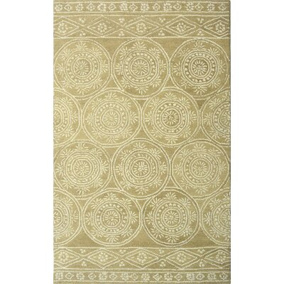 Villarreal Hand Tufted Wool Taupe Area Rug