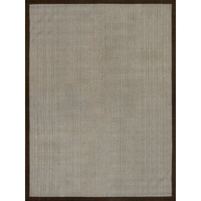 Richter Hand Woven Gray/Brown Area Rug