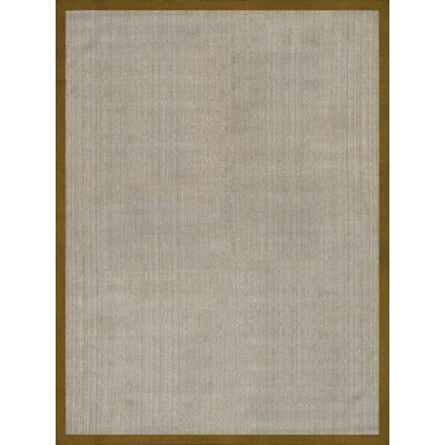 Riddick Hand Woven Beige/Gold Area Rug