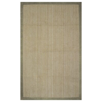 Riehle Maple Hand Woven Beige Area Rug