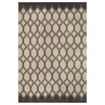 Eastlawn Hand Braided Charcoal Area Rug Rug Size: Rectangle 8 x 10