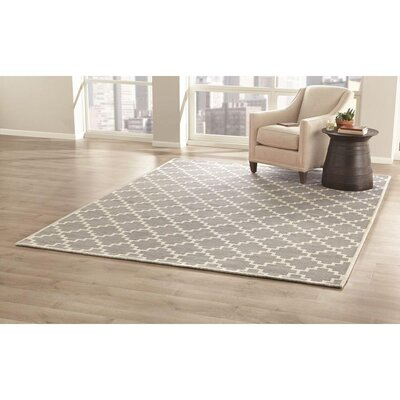 KeAndre Hand-Woven Blue Area Rug Rug Size: 9 x 12