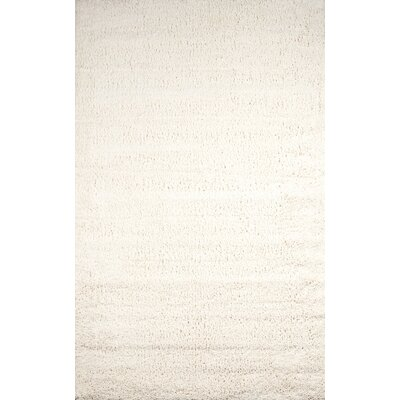 Stephengould Handmade Shag Cream Area Rug