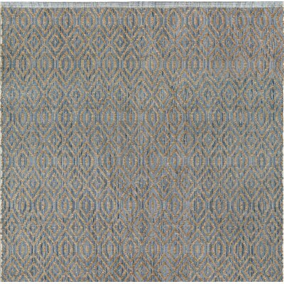 Bernetta Hand-Woven Blue/Natural Area Rug
