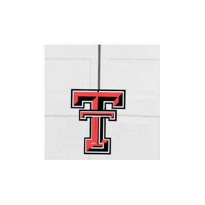 University Collegiate Color Logo Door Hanger NCAA Team: Texas Tech