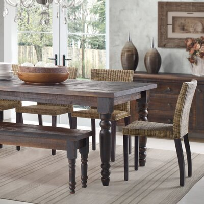 Valerie Dining Table Finish: Barnwood
